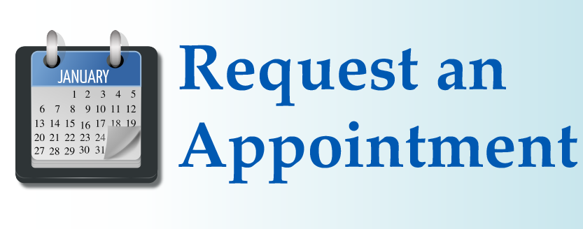 Use our online form to request an appointment.