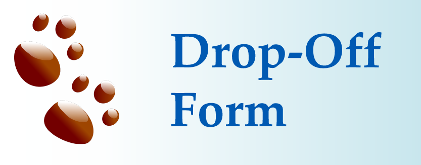 Use our online form to check-in before your drop off appointment.